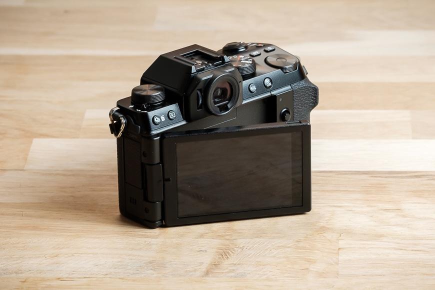 Back of the Fujifilm X-S10