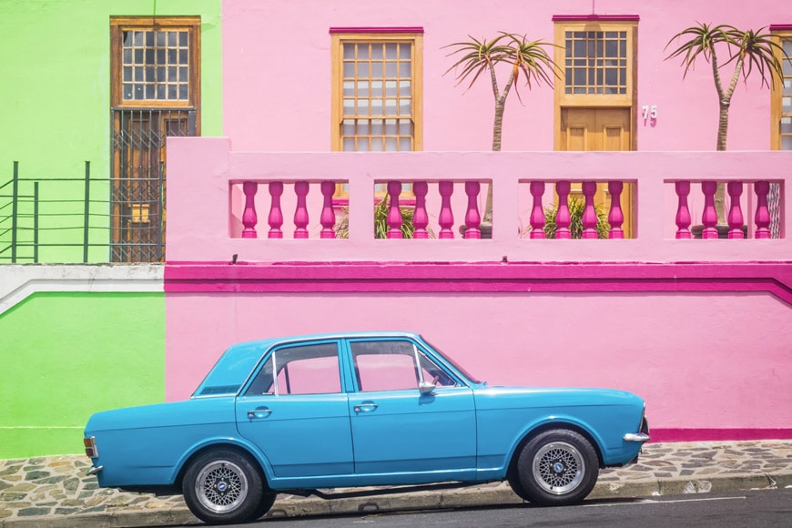 Color offers a type of informal photography balance