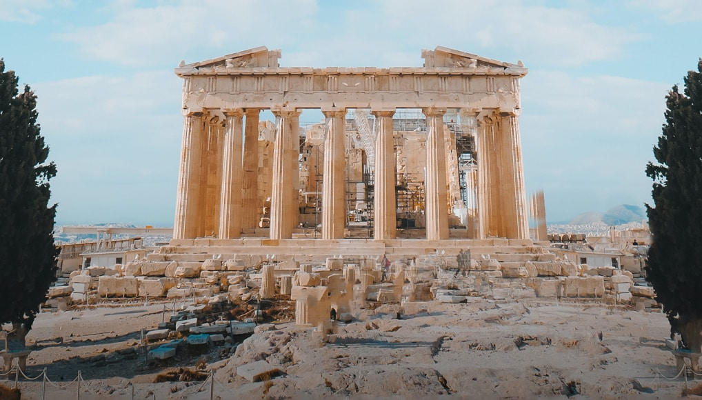 Balance in photography dates back to Greek temples from 600 BC