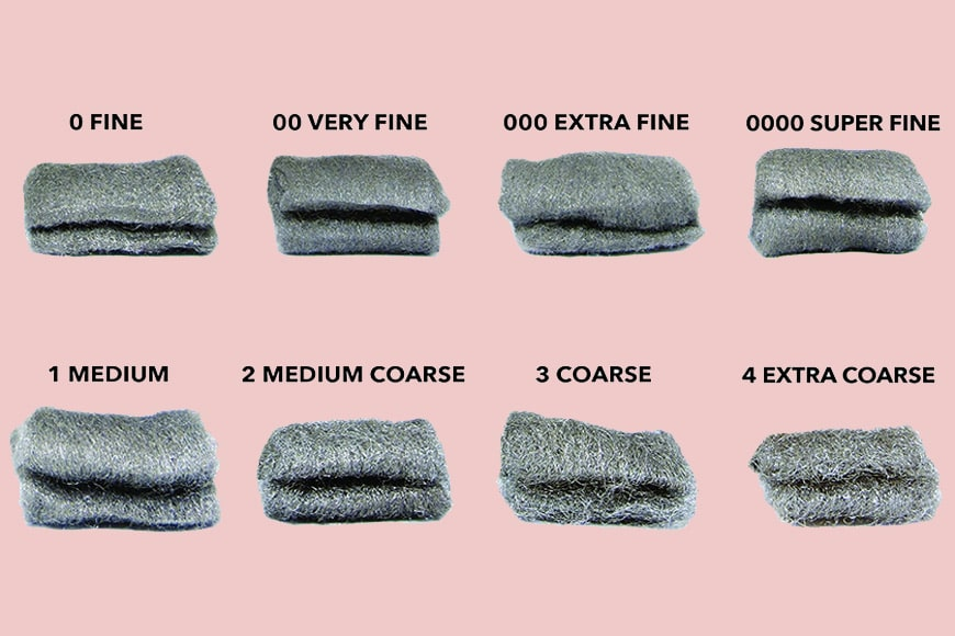 the different types of steel wool available