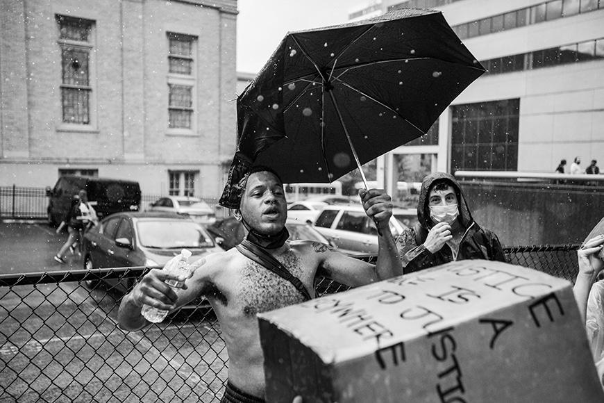 Black lives matter protest photojournalism