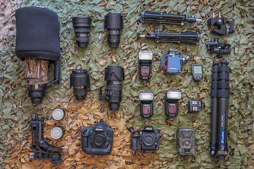 wildlife cameras lenses