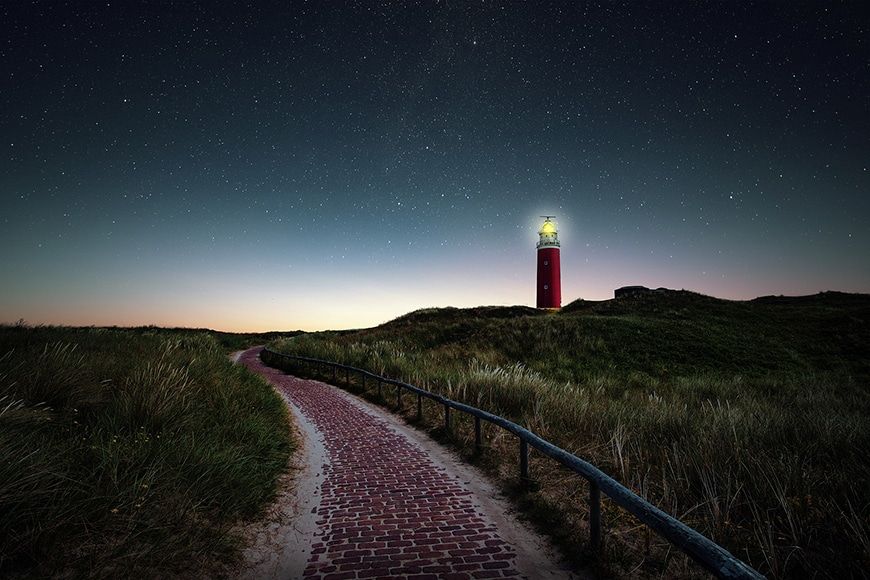 lighthouse on cape