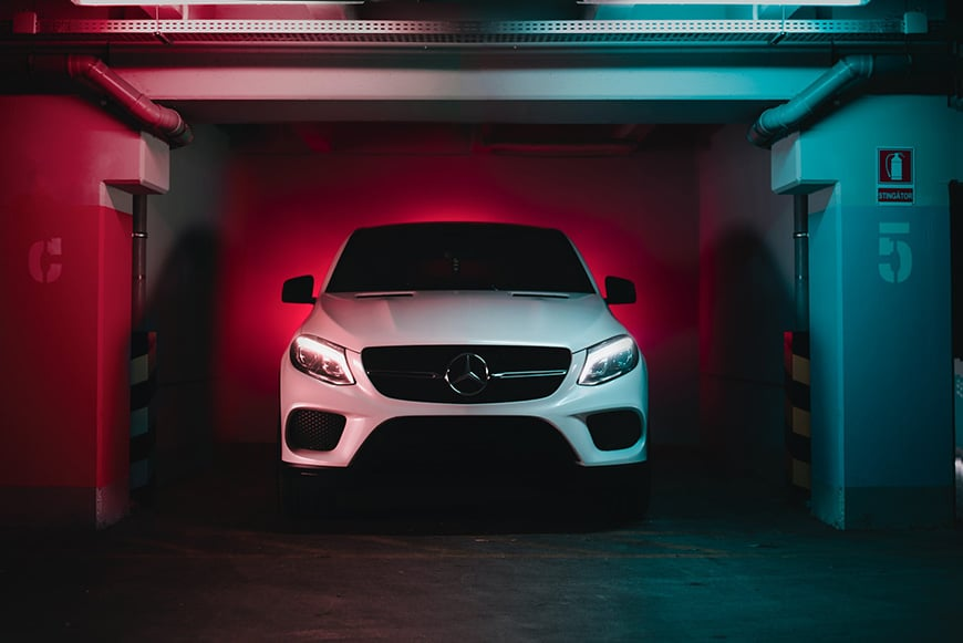 White balance in important in car photography