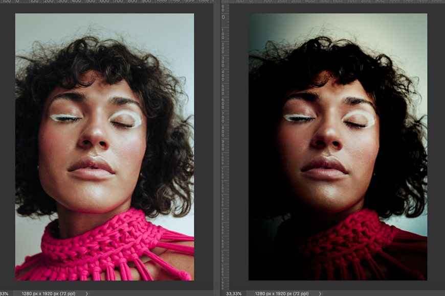 Adding drama to an image in photoshop