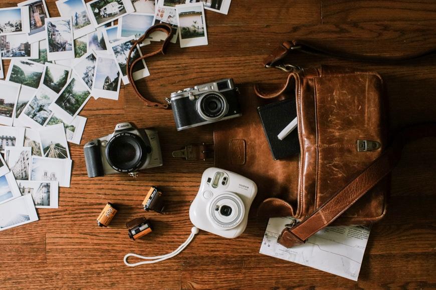 Camera gear of Megan Tsang.