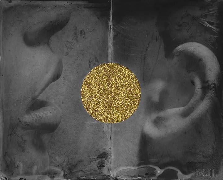 Untitled #1, Golden Scars by Zelko Nedic