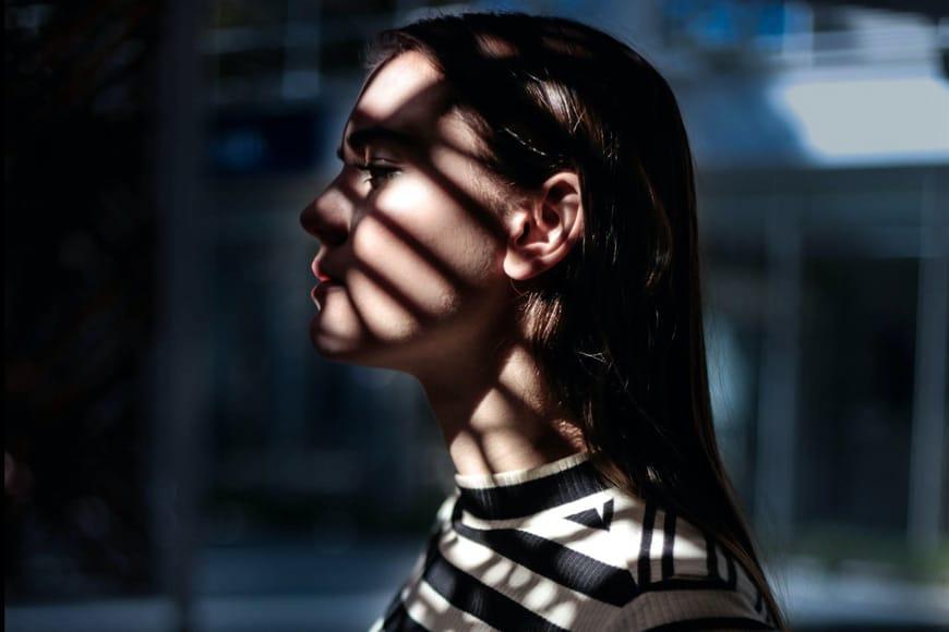 hard shadows in creative portraiture