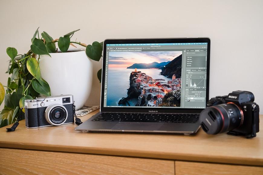 laptop-photoshop