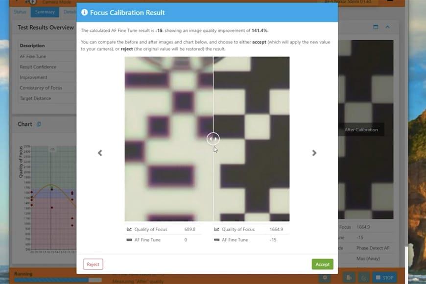 Lens Calibration software