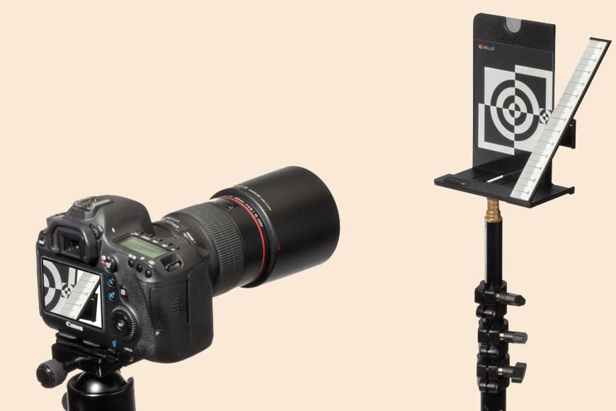 how to calibrate a lens