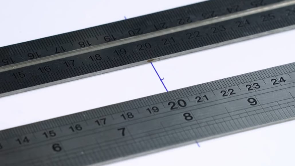 Using Rulers for Lens Calibration