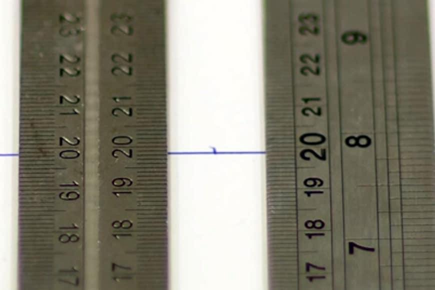 Proper lens calibration
