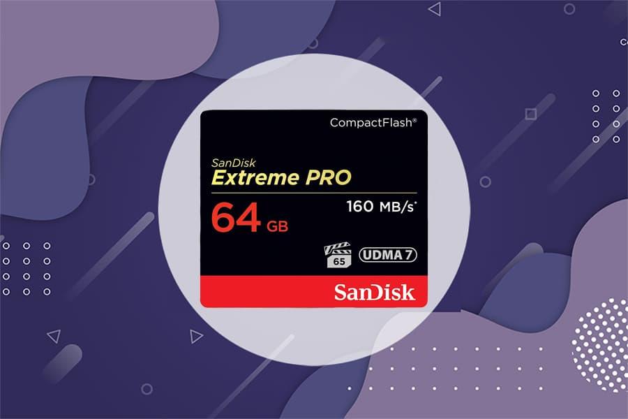 SanDisk Extreme Pro CompactFlash Memory Card