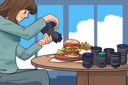 best-lens-food-photography